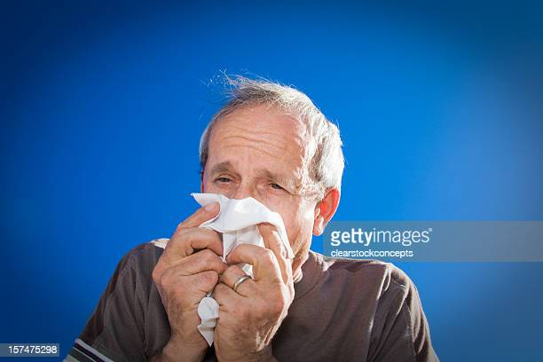 Senior Male Cold and Flu