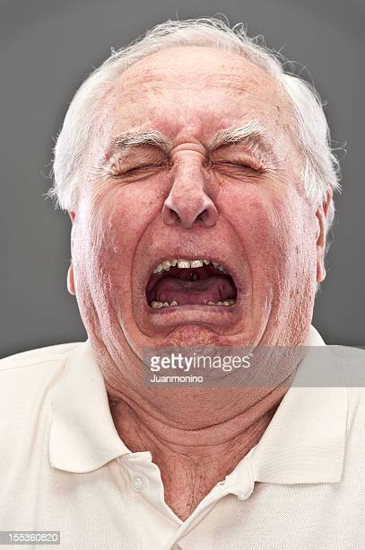 Senior Man Crying (real people)