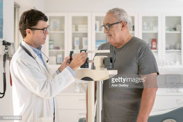 Senior Man Getting a Medical Examination
