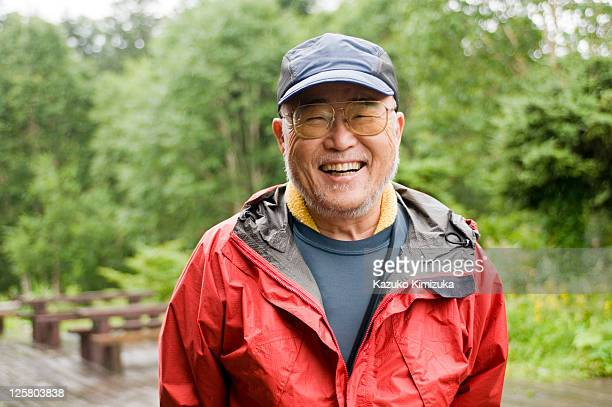 a senior man - japanese culture stock pictures, royalty-free photos & images