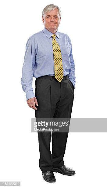senior man - black trousers stock pictures, royalty-free photos & images