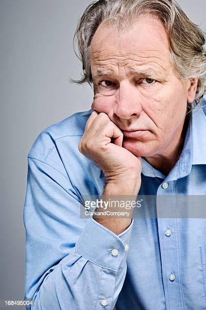 Homme Senior Portrait