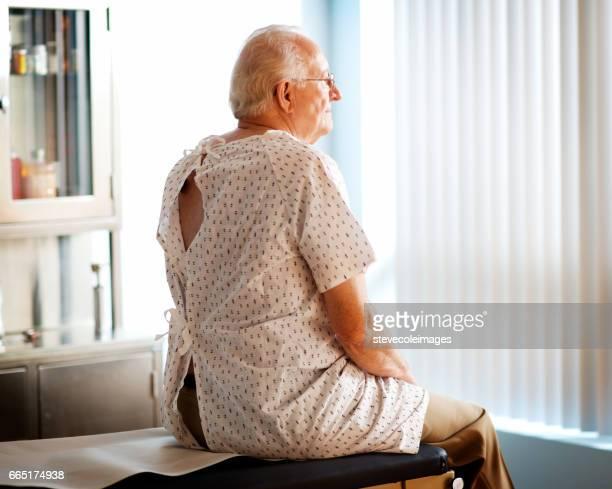 Senior Man Waiting