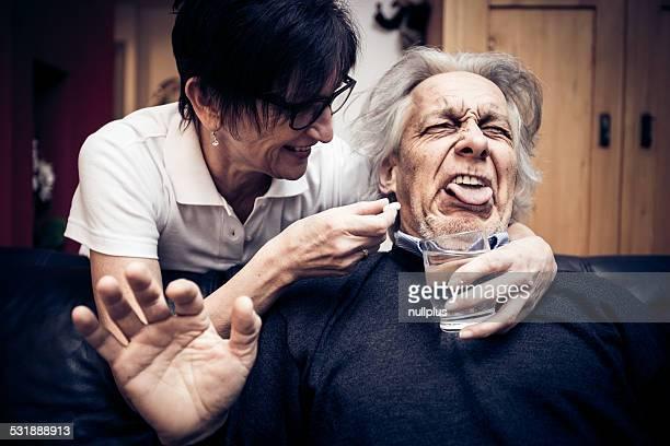 Alter Mann nicht sein Details