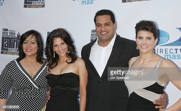 Senior Manager Branding and Advertising for DIRECTV Emma Velez Darlene Rodriguez David Rodriguez and CoExecutive Director of The New York...