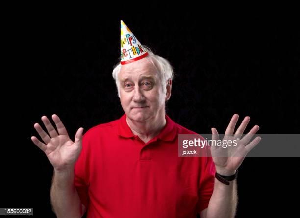 Senior Man's Birthday.