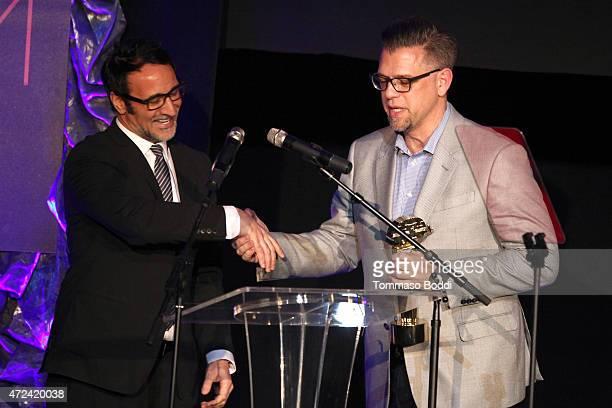 Senior Media Analyst for Rentrak Paul Dergarabedian honors the winner of the Golden Trailer Award for Best Box Office Trailer SrVp Marketing at NBC...