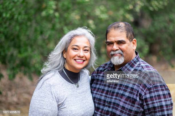 Senior Mexican Couple in Nature