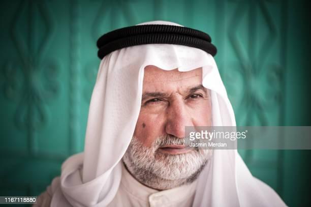 senior middle eastern man - jordanian workforce stock pictures, royalty-free photos & images