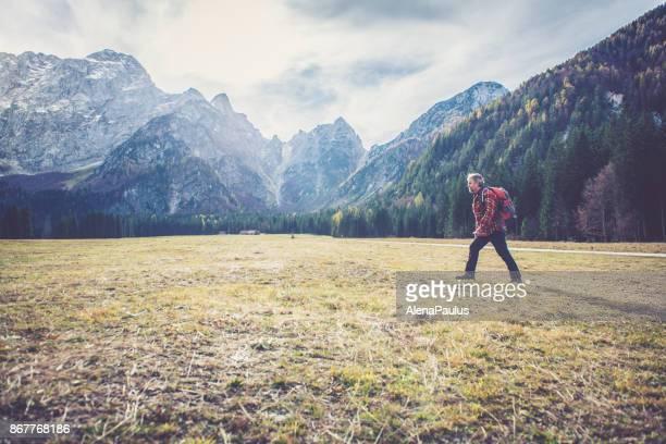 montanhista alto alpes - planalto - fotografias e filmes do acervo