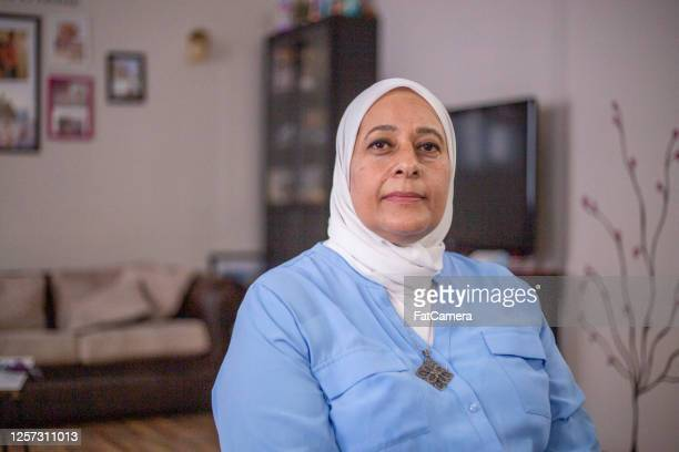 senior muslim woman - north africa stock pictures, royalty-free photos & images
