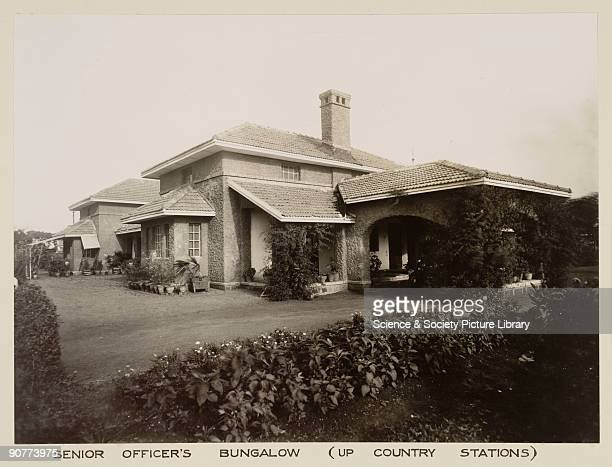 Senior officers' bungalow �up country� The house used by officers on the Great Indian Peninsula Railway was built when the British were in control of...