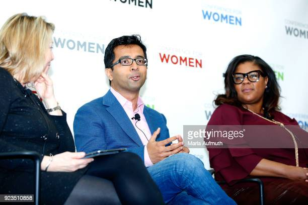 Senior partner and global leader When Women Thrive Mercer Patricia A Milligan VP worldwide services strategy innovation Cisco Rajat Mishra and Senior...
