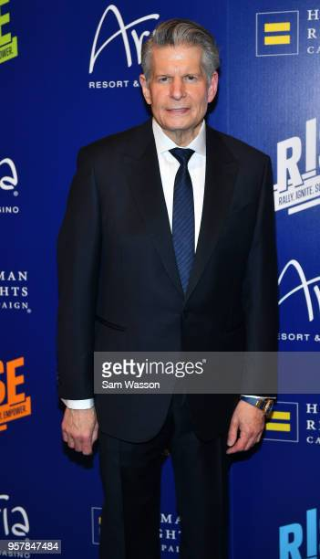 Senior partner of Global Market Advisors Bob Boughner attends the Human Rights Campaign's 13th annual Las Vegas Gala at the Aria Resort Casino on May...