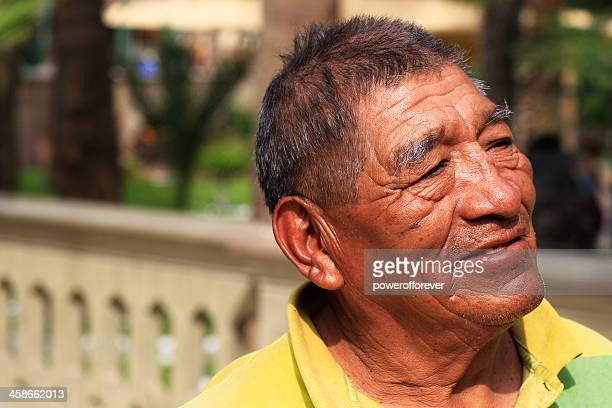 Senior Peruvian Man Portrait