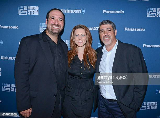 Senior producer at The Howard Stern Show Jason Kaplan Chief operating officer at The Howard Stern Show Channels Marci Turk and radio personality Gary...
