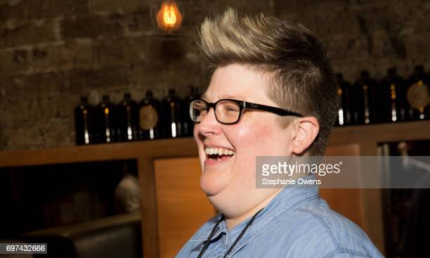 LAFF senior programmer Jenn Wilson attends the DGA Reception during 2017 Los Angeles Film Festival at City Tavern on June 16 2017 in Culver City...