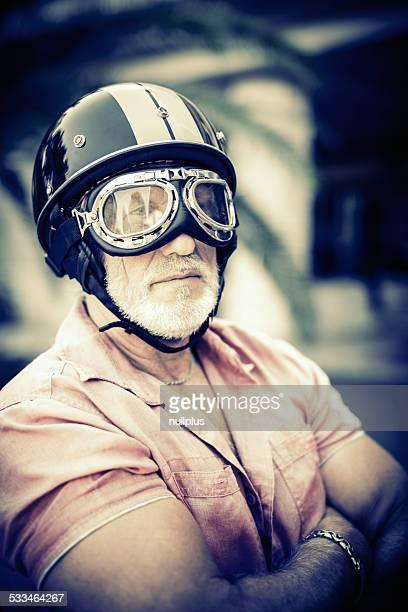 senior racing driver