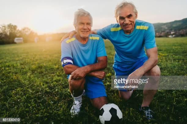 Senior fotbollsspelare