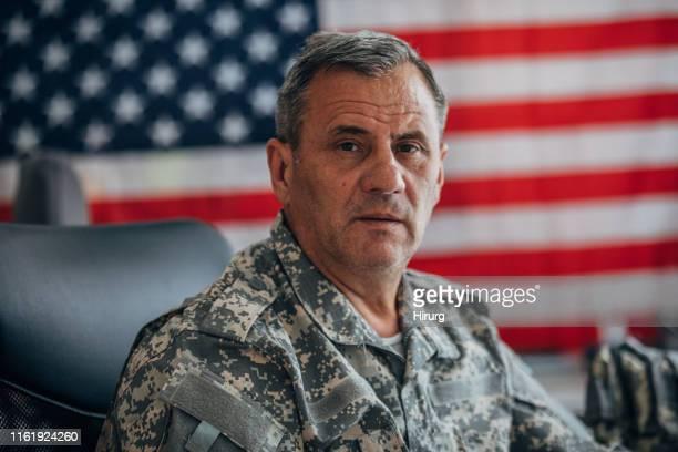 米国の上級兵士の肖像画 - 米軍 ストックフォトと画像