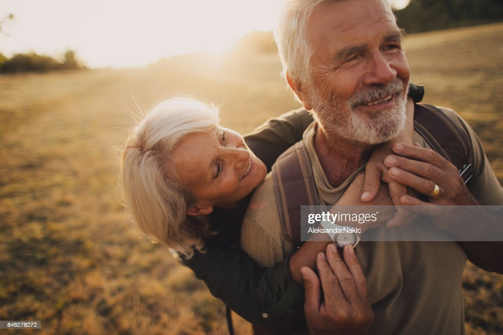 Senior Tenderness : Stock Photo