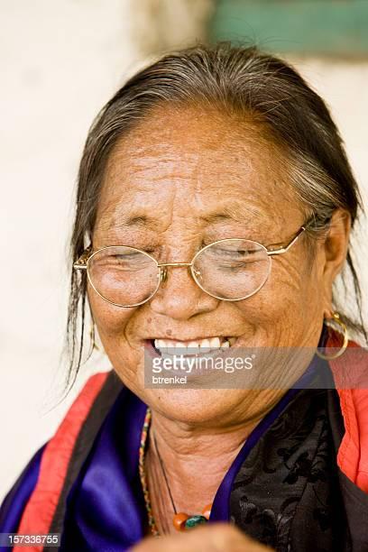 Senior Tibetan female