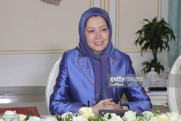 Senior US Senate Delegation Maryam Rajavi meet in Tirana the Albanian Capital on Saturday August 12 2017 Maryam Rajavi thanked the Senators for their...