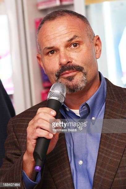 Senior Vice President and Brand Officer, Baskin-Robbins US and Canada Bill Mitchell attends the Dunkin' Donuts K-Cup packs introduced to California...