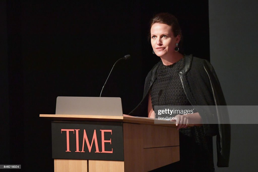 Senior Vice President and General Manager of News, Luxury & Style for Time, Inc. Meredith Long speaks onstage during TIME Celebrates FIRSTS on September 12, 2017 in New York City.