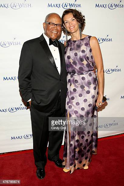 Senior Vice President and Northest Market Manager of Fifth Third Bank Ty J Williams and wife attend An Evening Of Wishes Annual Gala Benefiting...