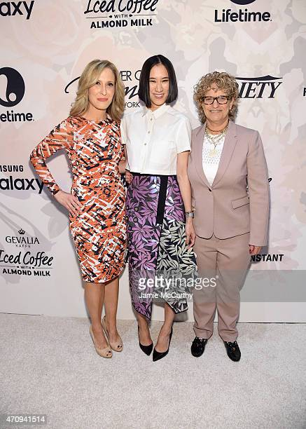 Senior Vice President and publisher of Variety Michelle Sobrino-Stearns, Editor-in-Chief of Lucky Eva Chen, and Co-Editor-in-Chief of Variety Claudia...