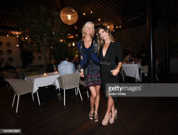 Senior Vice President at Haute Media Group April Irene Donelson and Editor-In-Chief at Haute Living Laura Schreffler attend Haute Living Celebrates...