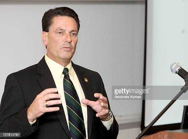 Senior Vice President Chief Information Officer The Walt Disney Studios Jeff Mirich attends Variety's 2011 Hollywood IT Summit at Pepperdine...