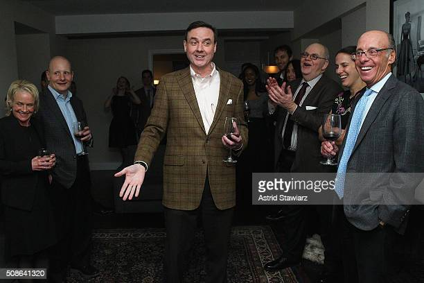 Senior Vice President Finance at Hudson's Bay Company Colin Dougherty speaks during an intimate evening of friends and colleagues at Mr Colin...