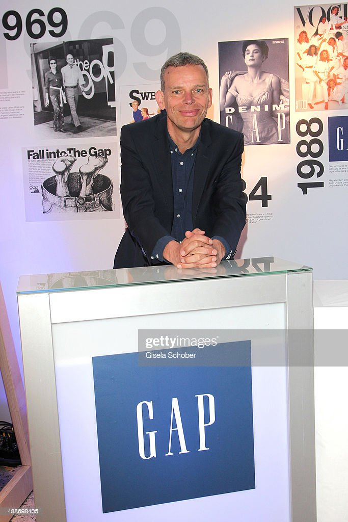 Senior Vice President, Gap Speciality International Stefan Labanattends the GAP Pop-Up Shop Opening on May 7, 2014 in Munich, Germany.
