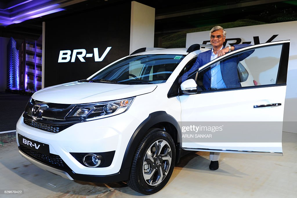 Senior Vice President Honda Cars India LimitedHCIL Janeswar Sen Poses With A