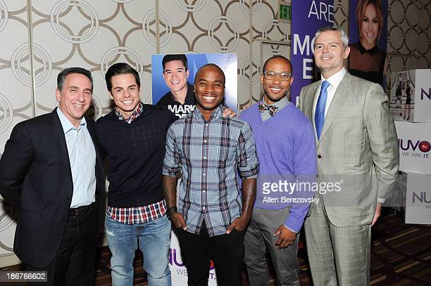 Senior vice president of ad sales and marketing for NUVOtv Craig Geller dancers Beau Casper Smart George Jones Jr Jimmy RO Smith and vice president...
