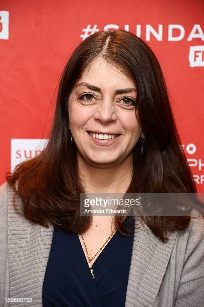 Senior Vice President of Documentary Films Nancy Abraham arrives at the 2013 Sundance Film Festival Premiere of Life According To Sam at Temple...