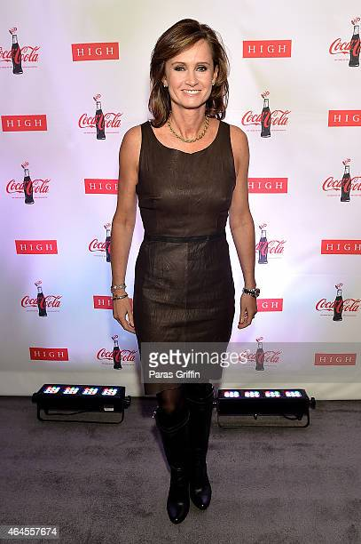 Senior Vice President of Global Sparkling Brands The CocaCola Company Katie Bayne attends The CocaCola Bottle An American Icon at 100 exhibition at...
