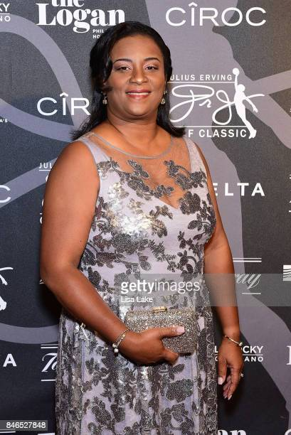 Senior Vice President of Legal Affairs for Dr J Enterprises Dorna Taylor attends the Erving Golf Classic Black Tie Ball sponsored by Delta Airlines...
