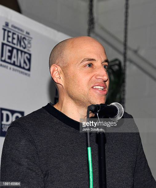 Senior Vice President of Marketing ECommerce of Aeropostale Scott Birnbaum attends the DoSomethingorg and Aeropostale launch of the 6th annual Teens...