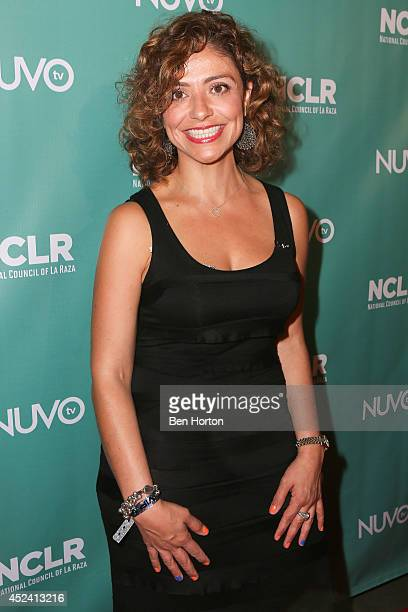 Senior Vice President of NUVOtv Lynnette Ramirez attends the NUVOtv Comedy Night at Los Angeles Convention Center on July 19 2014 in Los Angeles...
