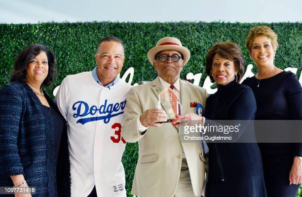 Senior Vice President of of External Affairs at Blue Shield of California Kimberley Goode 2019 Grand Marshal Dodgers Manager Dave Roberts President...