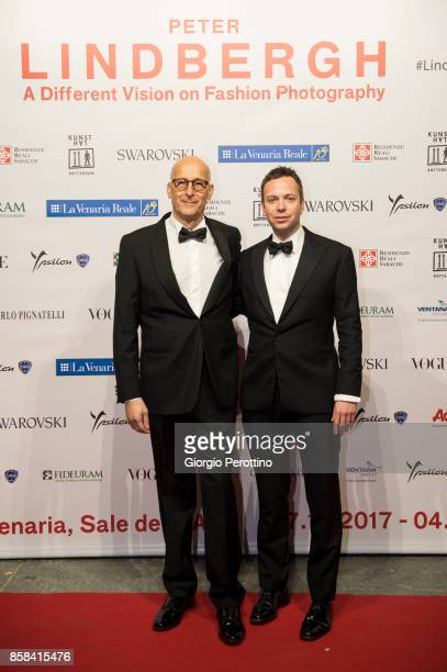 Senior Vice President of Swarowski Roland Harste attends the opening gala of 'A Different Vision On Fashion Photography' By Peter Lindbergh...