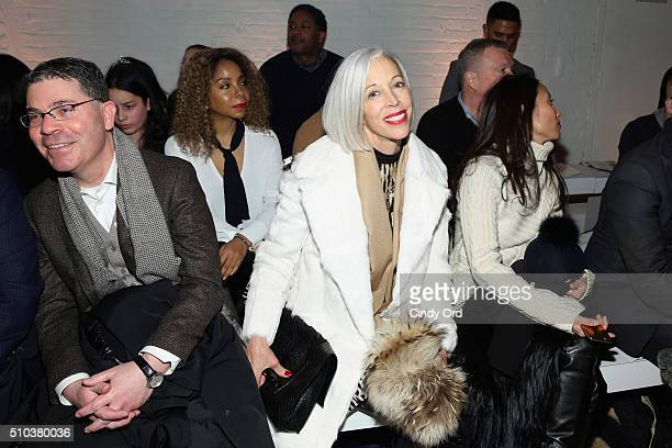 Senior vice president of the fashion office and the director of women's fashion and store presentation of Bergdorf Goodman Linda Fargo attends the...