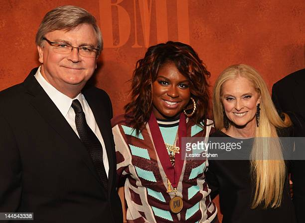 Senior Vice President Writer/Publisher Relations Phil Graham BMI Pop award winner Ester Dean and Vice President and General Manager Writer/Publisher...