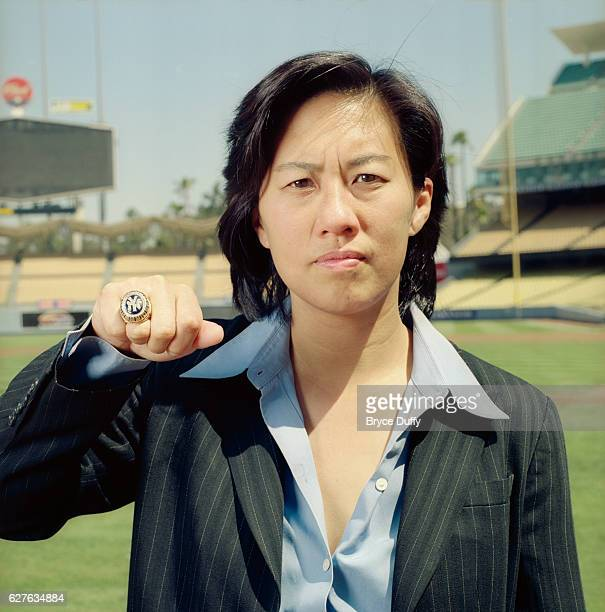 Senior VicePresident for Baseball Operations with Major League Baseball Kim Ng is photographed for ESPN The Magazine on January 14 2007 at Dodger...