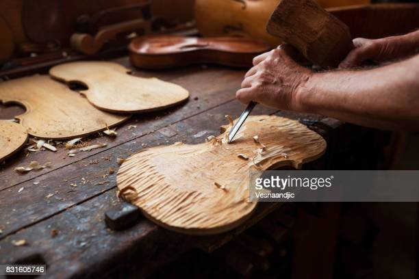 Senior violin maker