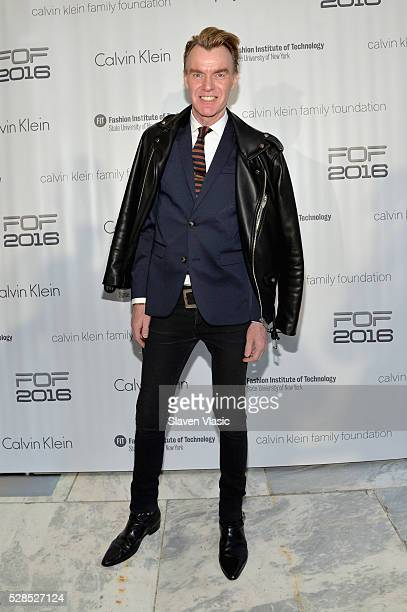 Senior VP at Neiman Marcus and FOF Judge Ken Downing attends the 2016 Future of Fashion Runway Show at The Fashion Institute of Technology on May 5...