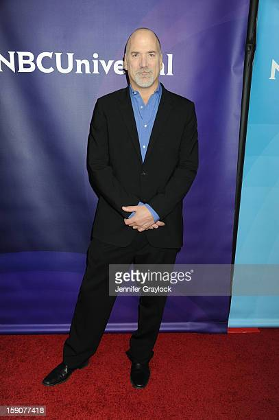 Senior VP Primetime Alternative Format Programing CNBC Jim Ackerman attends the NBC 2013 TCA Winter Press Tour Day 2 held at The Langham Huntington...